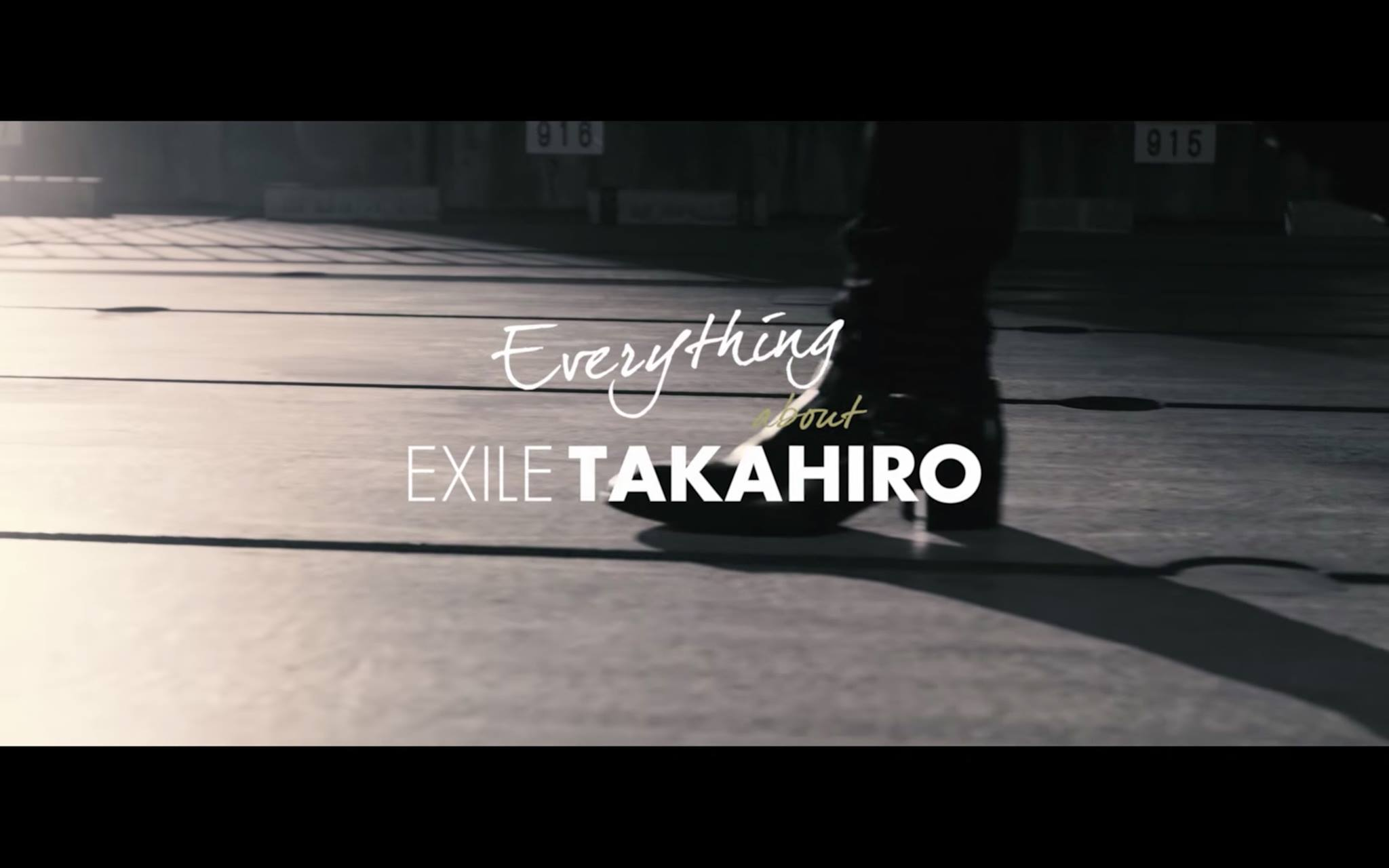 Everything about EXILE TAKAHIRO.
